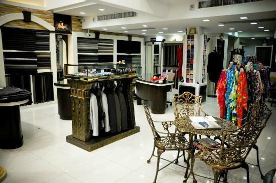 Inner View Of This Grand Tailor Shop In Patong