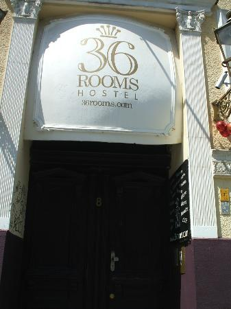36 Rooms Hostel: the hostel
