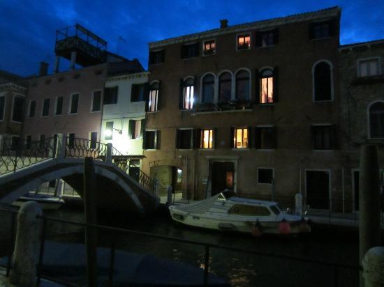 """Palazzetto da Schio: Coming """"home"""" at night"""