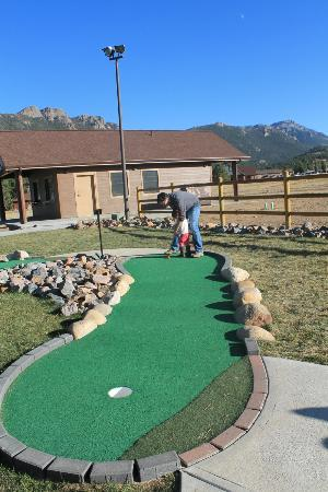 YMCA of the Rockies: YMCA onsite put put golf