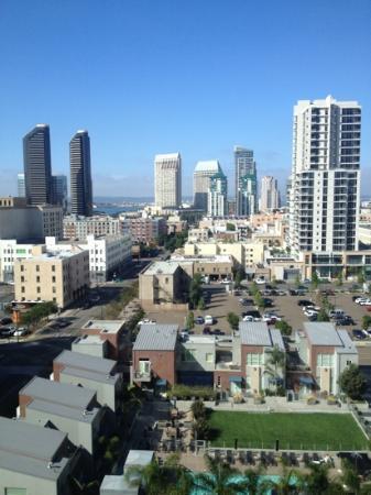 Hotel Indigo San Diego Gaslamp Quarter: room with a view