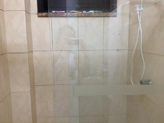 Real Praia Hotel: Não há porta sabonete no banheiro!!!