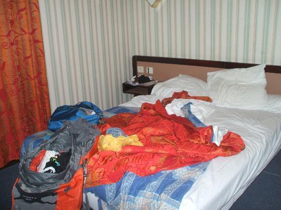 Hotel de la Place Malakoff: our room