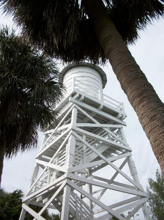 Captiva Island, FL: Water tower at Cabbage Key