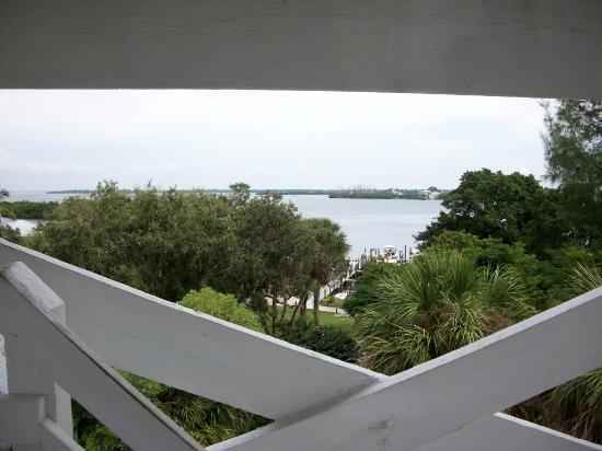 Captiva Island, FL: View from water tower at Cabbage Key