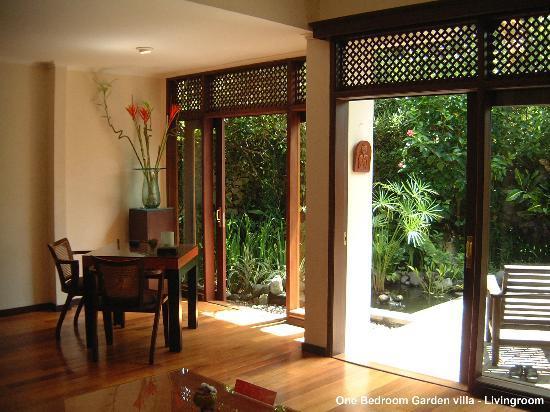 The Pavilions Bali: One Bedroom Garden villa - living area