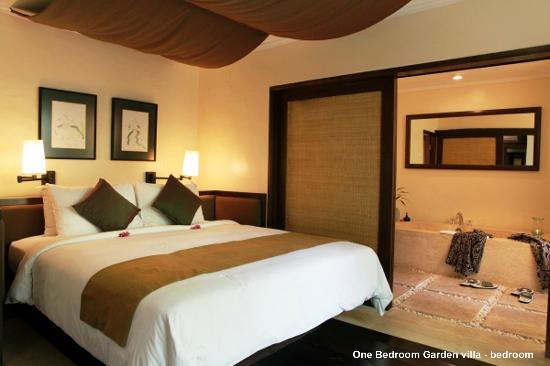 The Pavilions Bali: One Bedroom Garden villa - bedroom