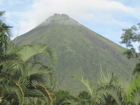 Brisas Arenal Hotel: Vista al Volcán Arenal