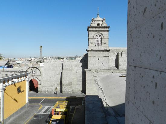 Hotel Asturias : View from balcony of Room 313 (Santa Catalina Monastery)