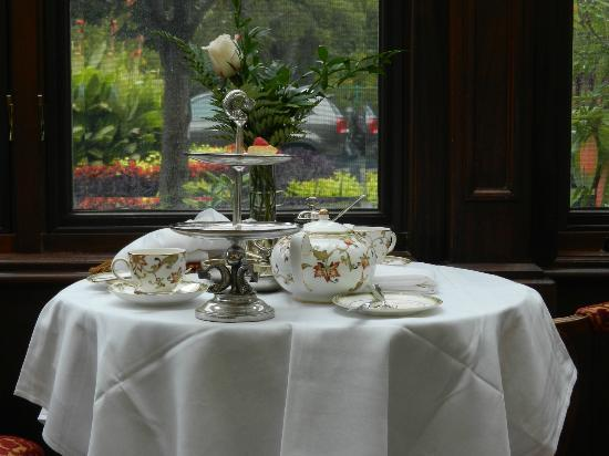 The Drawing Room at the Prince of Wales Hotel: High Tea indeed