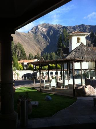 Aranwa Sacred Valley Hotel & Wellness : wow' gorgeous view from dining room