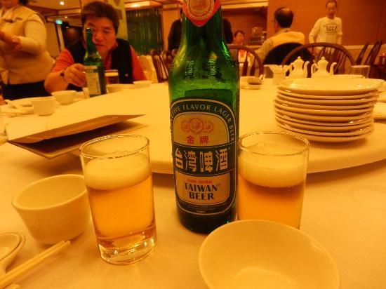 Hotel Royal Chihpen : taiwan beer