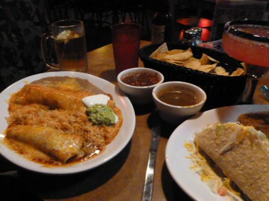 MARGARITAS: Two dinners
