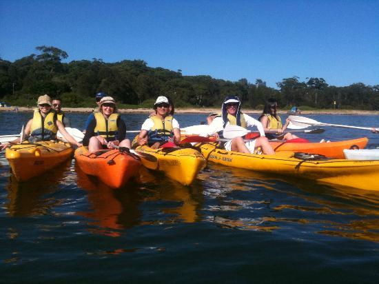 Tour Group about to head off our our Bundeena to Audley Eco adventure