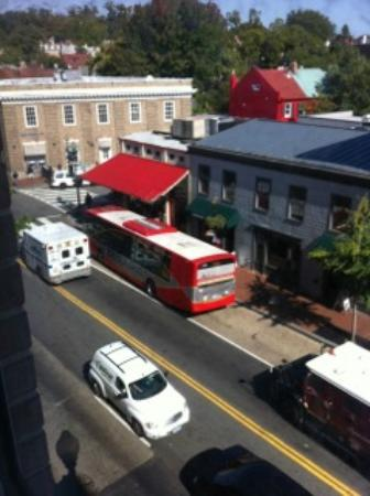 The Georgetown Inn: View from 407