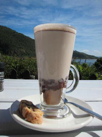 East Head Cafe: Hot Chocolate. Yummehhhh