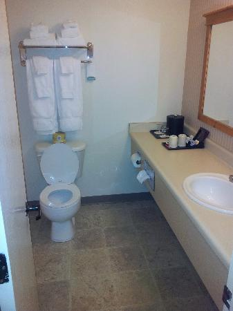 Coast International Inn : bathroom