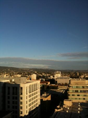 Marriott Oakland City Center: 21st floor view