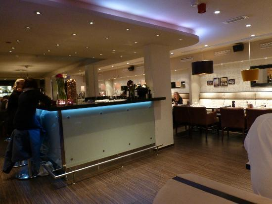 Salza Steakhouse: Inside the restaurant