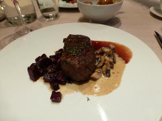 Salza Steakhouse: My sirloin