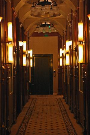 Mansion Hotel room corridor
