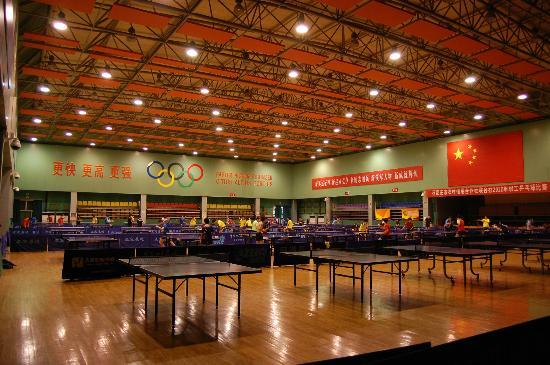 Main Hall Picture Of Table Tennis Training Base Zhengding County - Training table restaurant