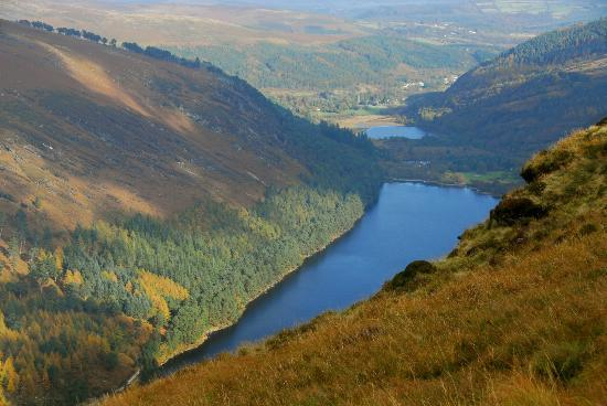 Wicklow Mountains National Park: one of the views