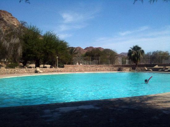 Cañón Fish River, Namibia: outdoor pool