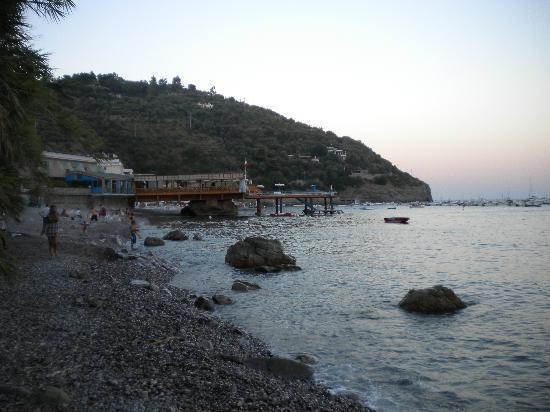 Villaggio Resort Nettuno: Tramonto sulla spiaggia del campeggio 1