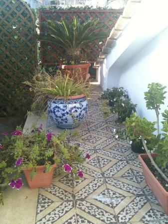Villa Lieta: on the terrace
