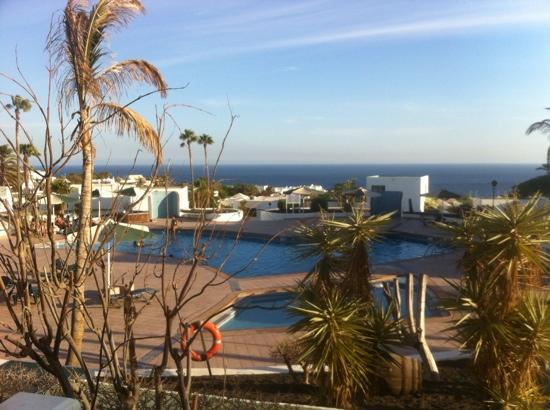 Loma Verde Aparthotel : August 2012 gorgeous view.