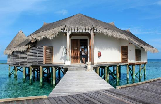Jumeirah Vittaveli: Turtle 1 lagoon villa (sunset side)