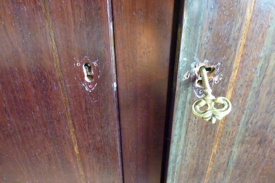 Residencial Palanca: Detalle del armario