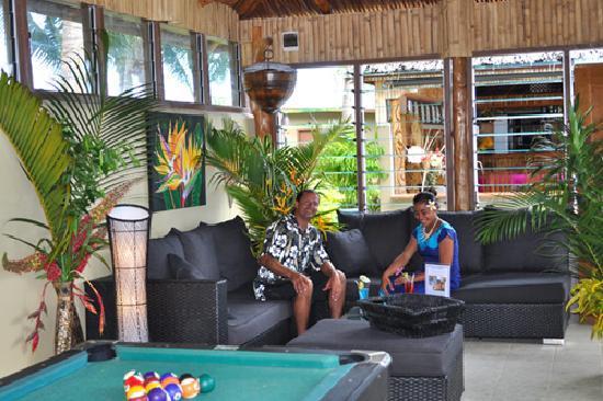 Le Vasa Resort: Pool house game room