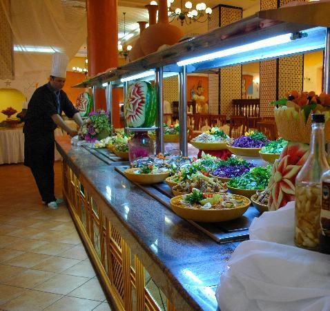 Nour Palace Resort : buffet