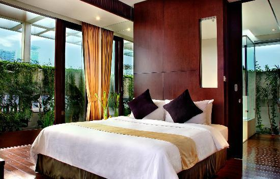 Aston at Kuningan Suites: Penthhouse Bedroom