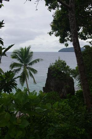 Padre Burgos Castle Resort, Leyte - view of sea