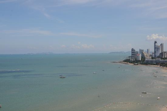 Hilton Pattaya: view from room