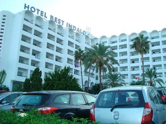 Hotel Best Indalo: Entrada principal