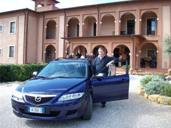 Saturnia Tuscany Hotel: l'ingresso dell'hotel