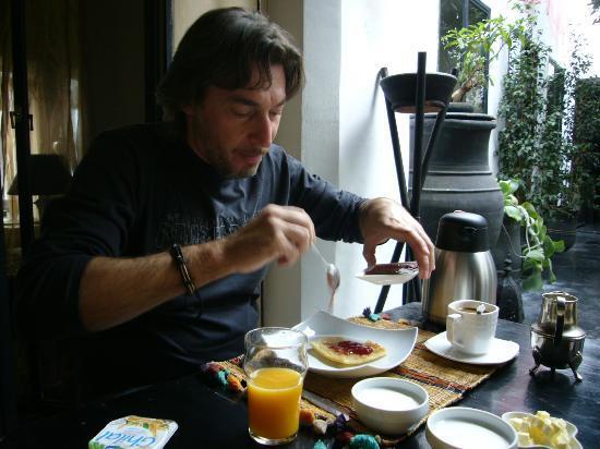 Riad Golfame: La colazione