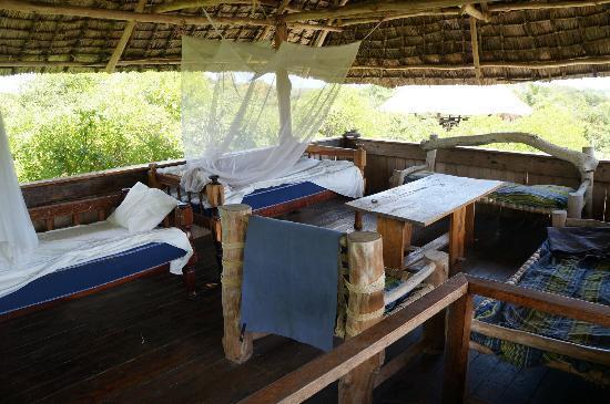 Mida Ecocamp: Swahili House Roof