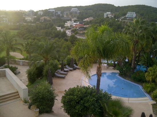 Dolce Sitges: Poolview from room 648