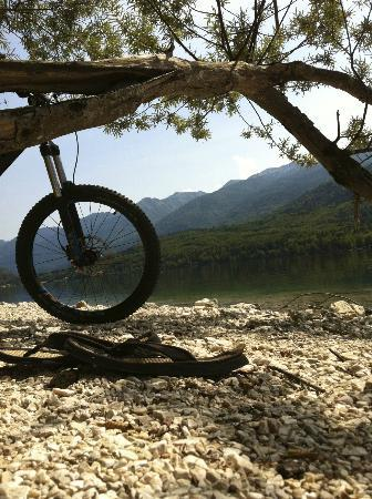 Bohinj Park ECO Hotel: nice way to move around is by bike