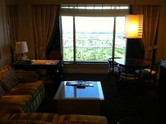 The Palazzo Resort Hotel Casino: Salón habitación estándar