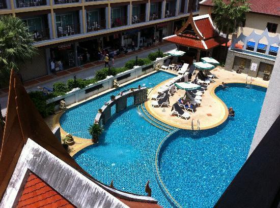 Amata Patong: pool from my balcony