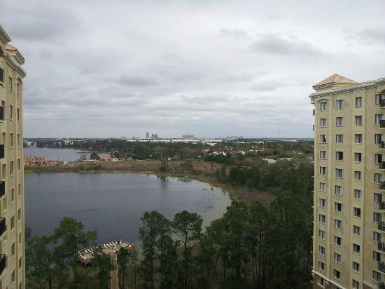 Lake Eve Resort : balcony view