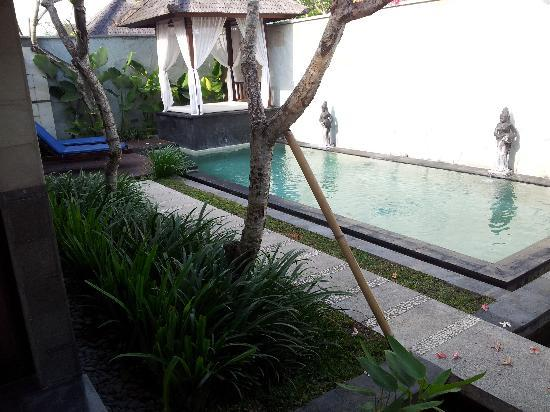 The Khayangan Villas: private s.pool