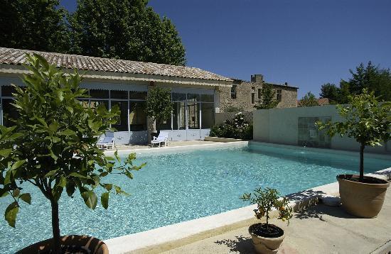 La piscine de blanche fleur photo de blanche fleur for Chateauneuf de gadagne piscine