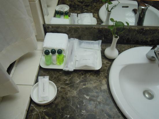 Santos Hotel: bathroom